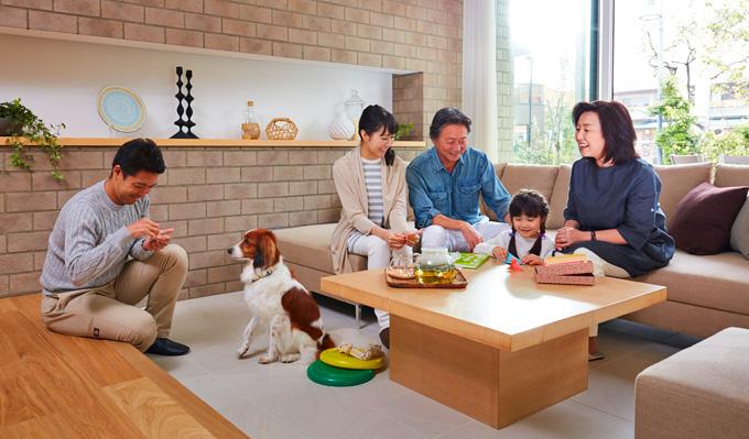 愛犬と暮らせる家