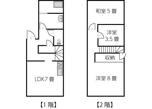 建坪11坪〜13坪の間取り例03