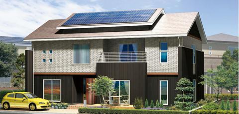 J-SUNSHINE 太陽光発電の家